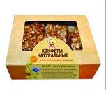 Конфеты натуральные со льном, семенами тыквы и шоколадом, 140г, Дивинка